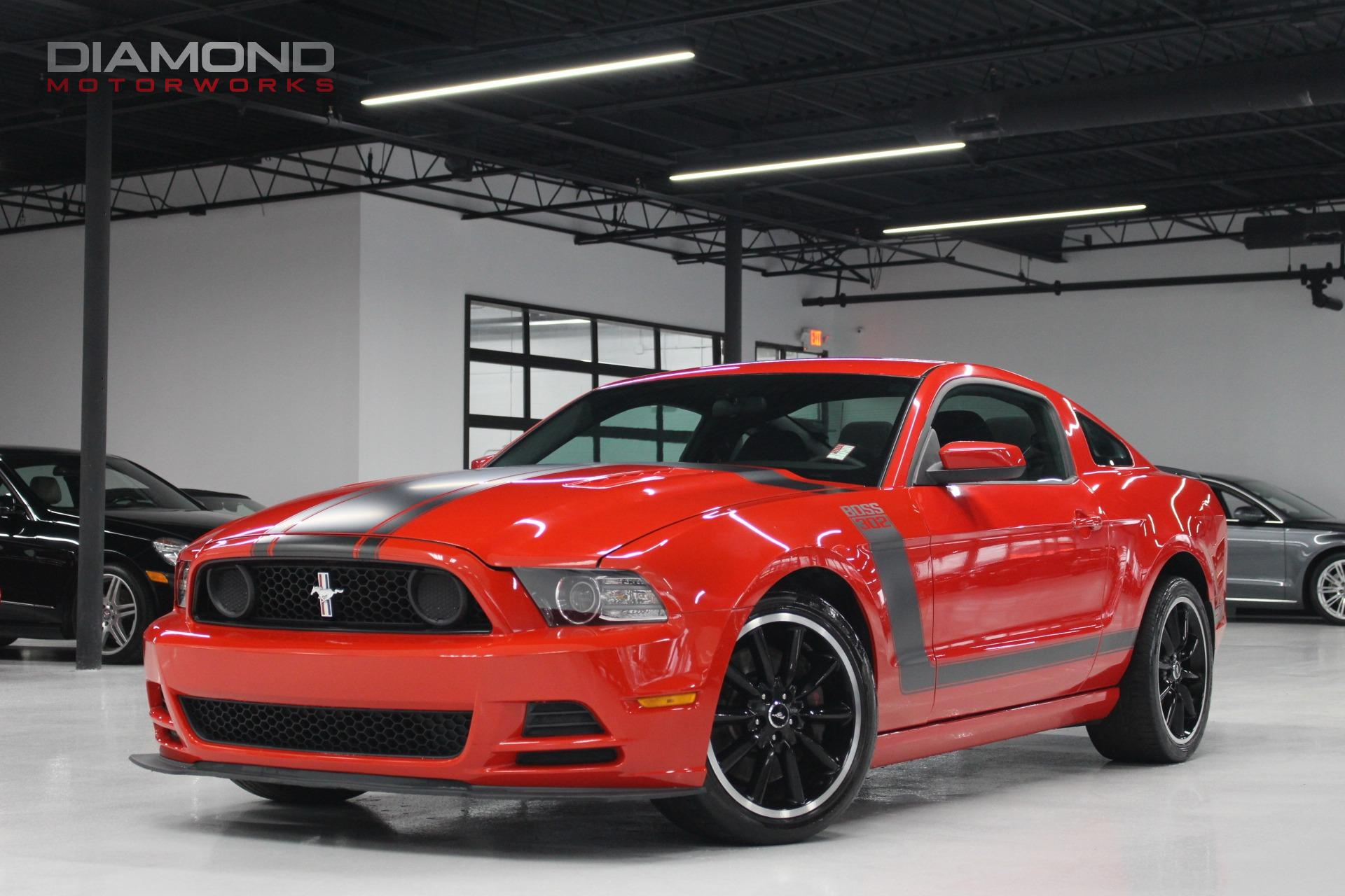 used 2013 ford mustang 2dr coupe boss 302 lisle il. Black Bedroom Furniture Sets. Home Design Ideas