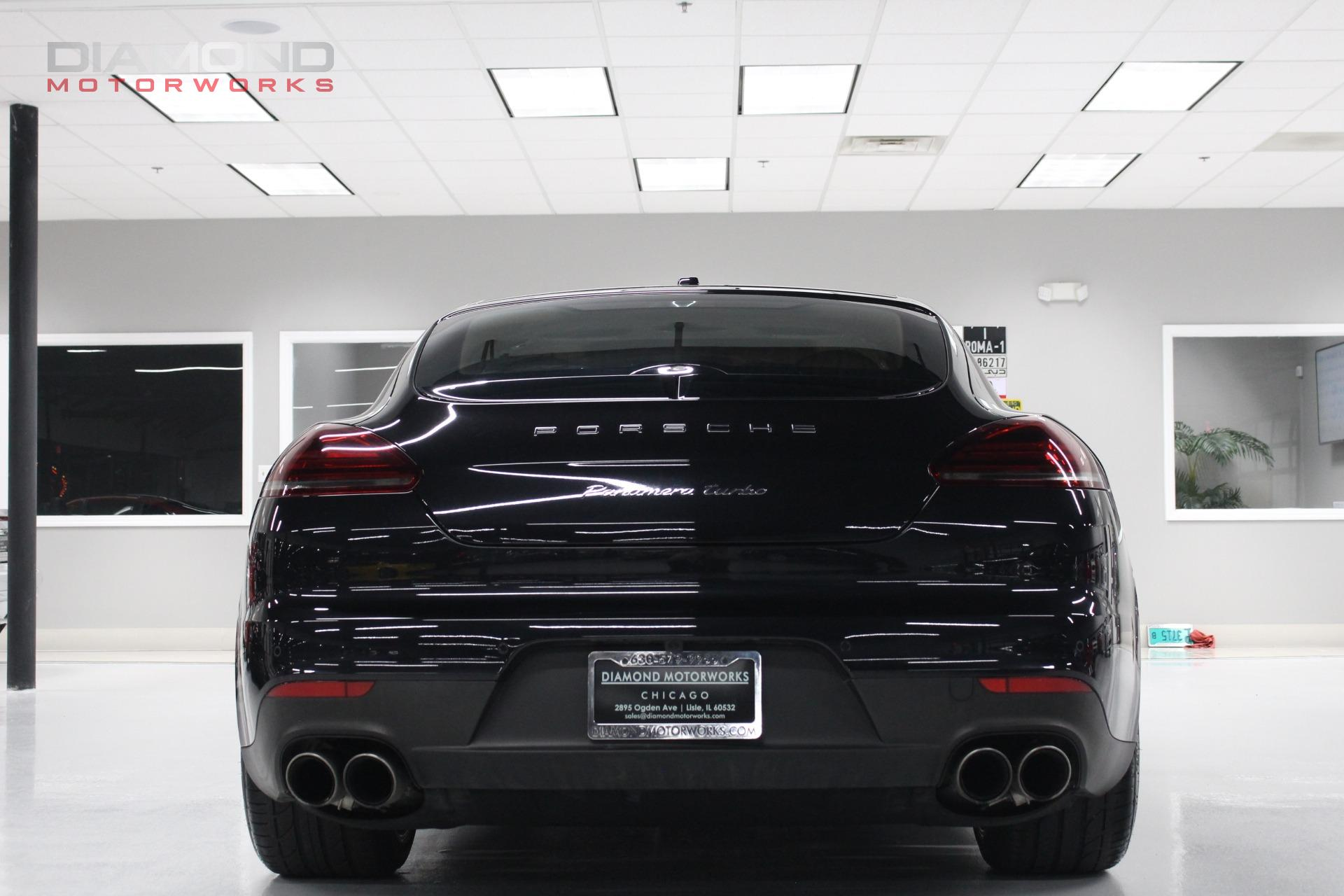 2014 Porsche Panamera 4dr Hatchback Turbo Executive Stock