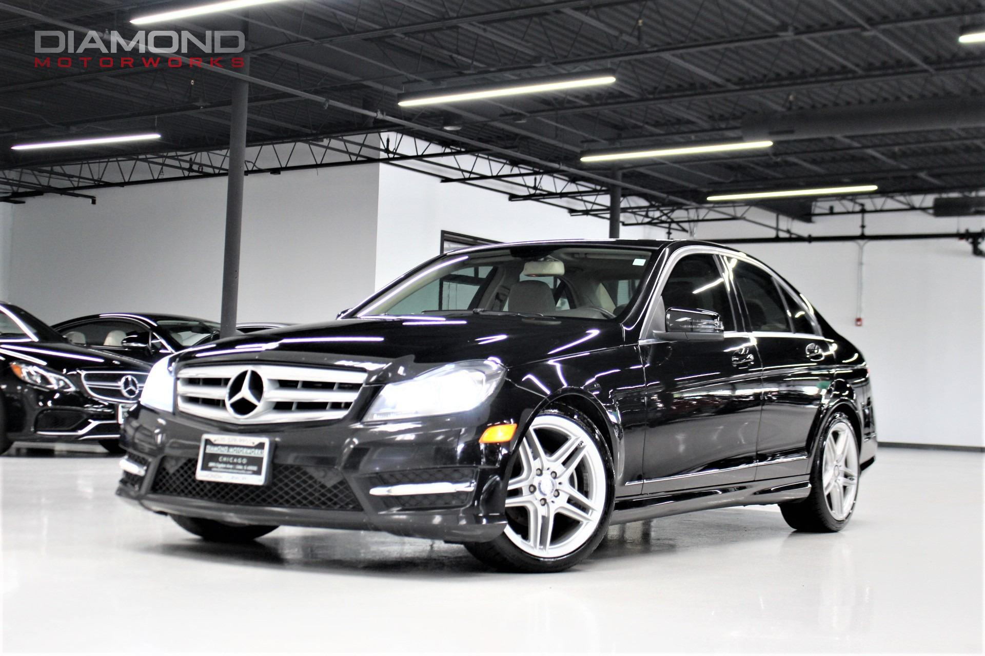 Used 2012 Mercedes Benz C Class 4dr Sedan C300 Sport 4MATIC