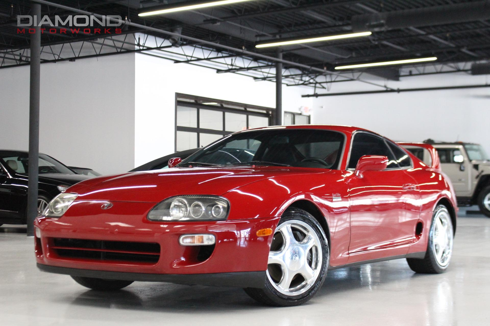 used 1997 toyota supra twinturbo lisle il. Black Bedroom Furniture Sets. Home Design Ideas