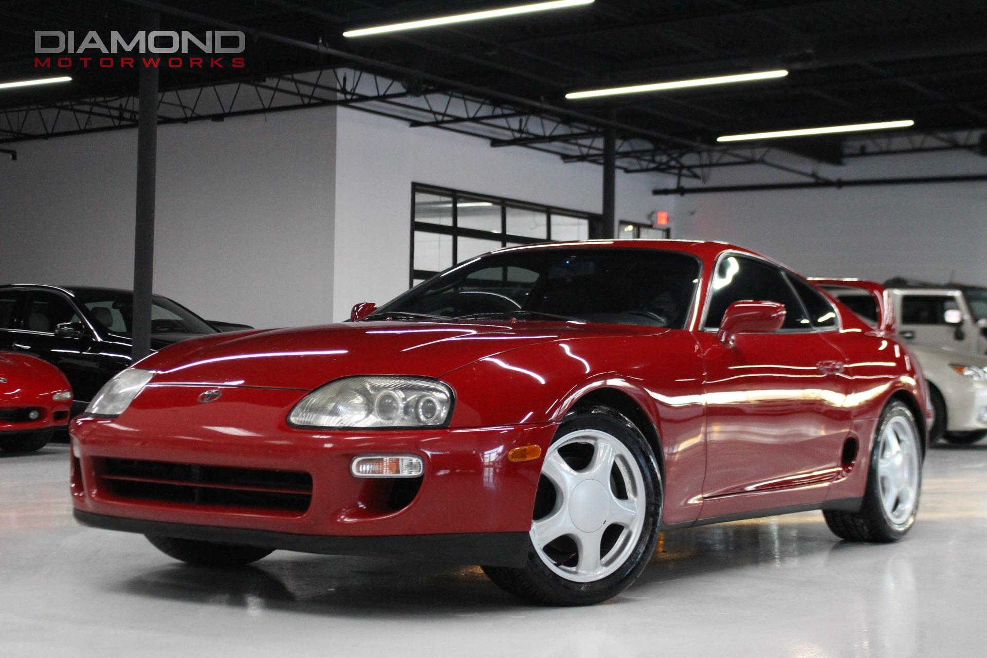 1994 toyota supra stock 022322 for sale near lisle il il toyota dealer. Black Bedroom Furniture Sets. Home Design Ideas