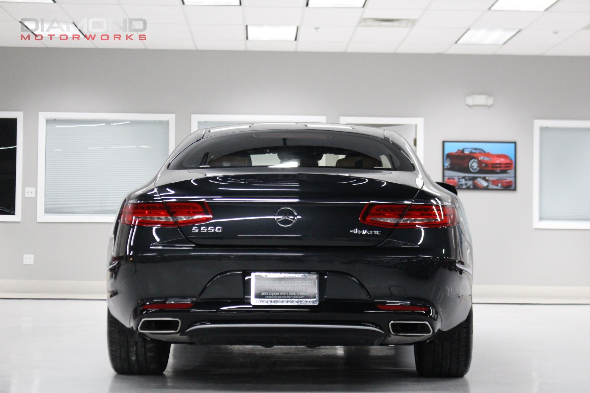 used 2016 mercedes benz s class s 550 4matic coupe. Black Bedroom Furniture Sets. Home Design Ideas
