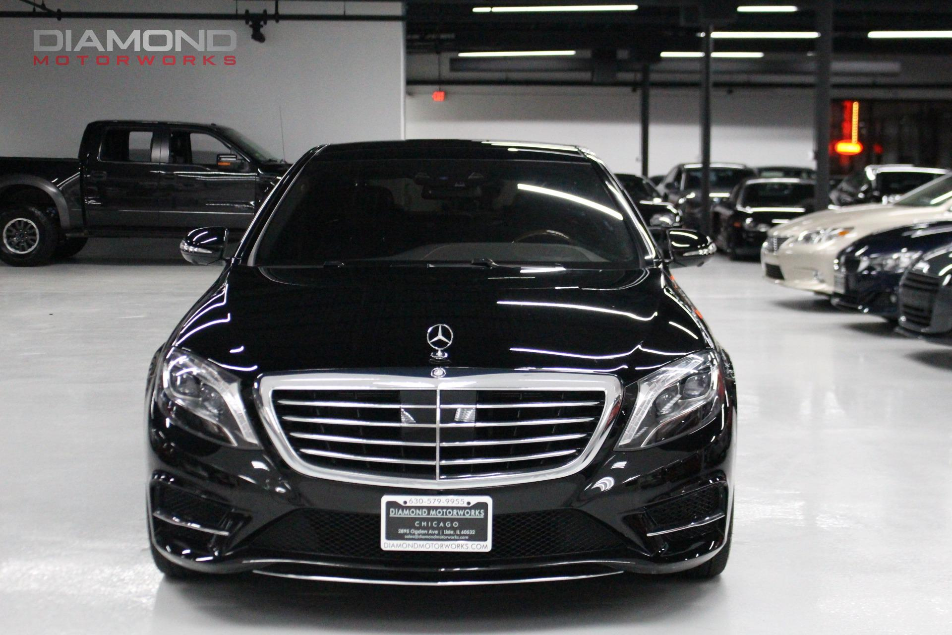 used 2016 mercedes benz s class s 550 4matic amg sport. Black Bedroom Furniture Sets. Home Design Ideas