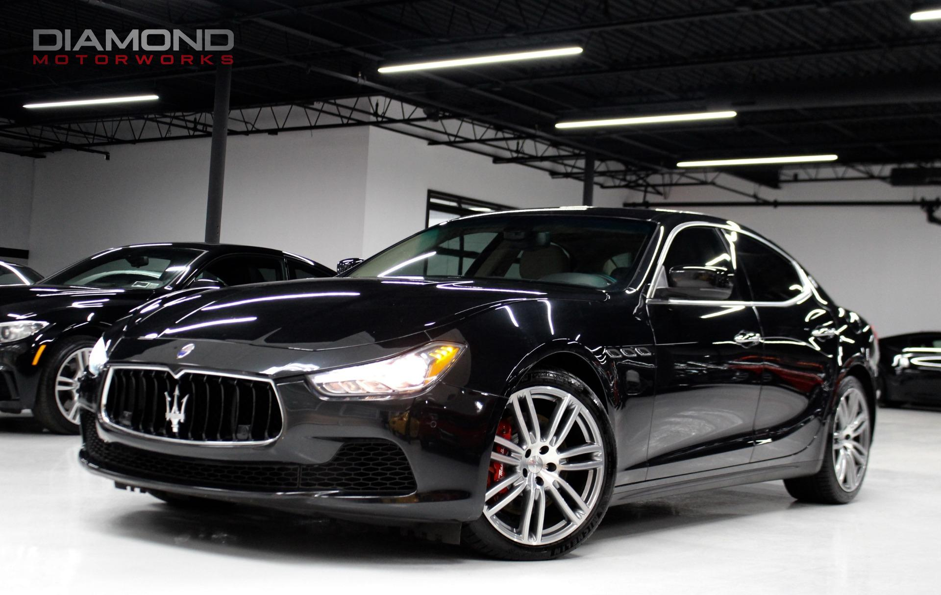 2015 Maserati Ghibli S Q4 Stock for sale near Lisle IL