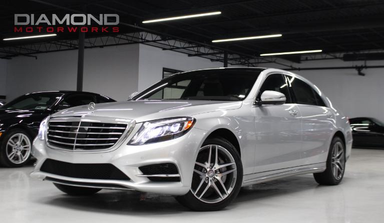 Used 2016 Mercedes Benz S Cl 550 4matic Amg Sport Lisle