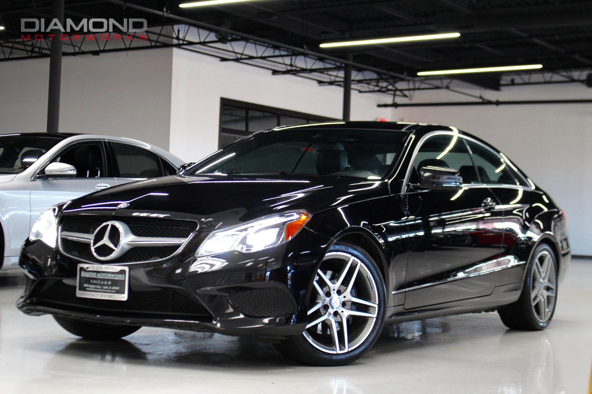 2014 mercedes benz e class e 350 4matic coupe stock