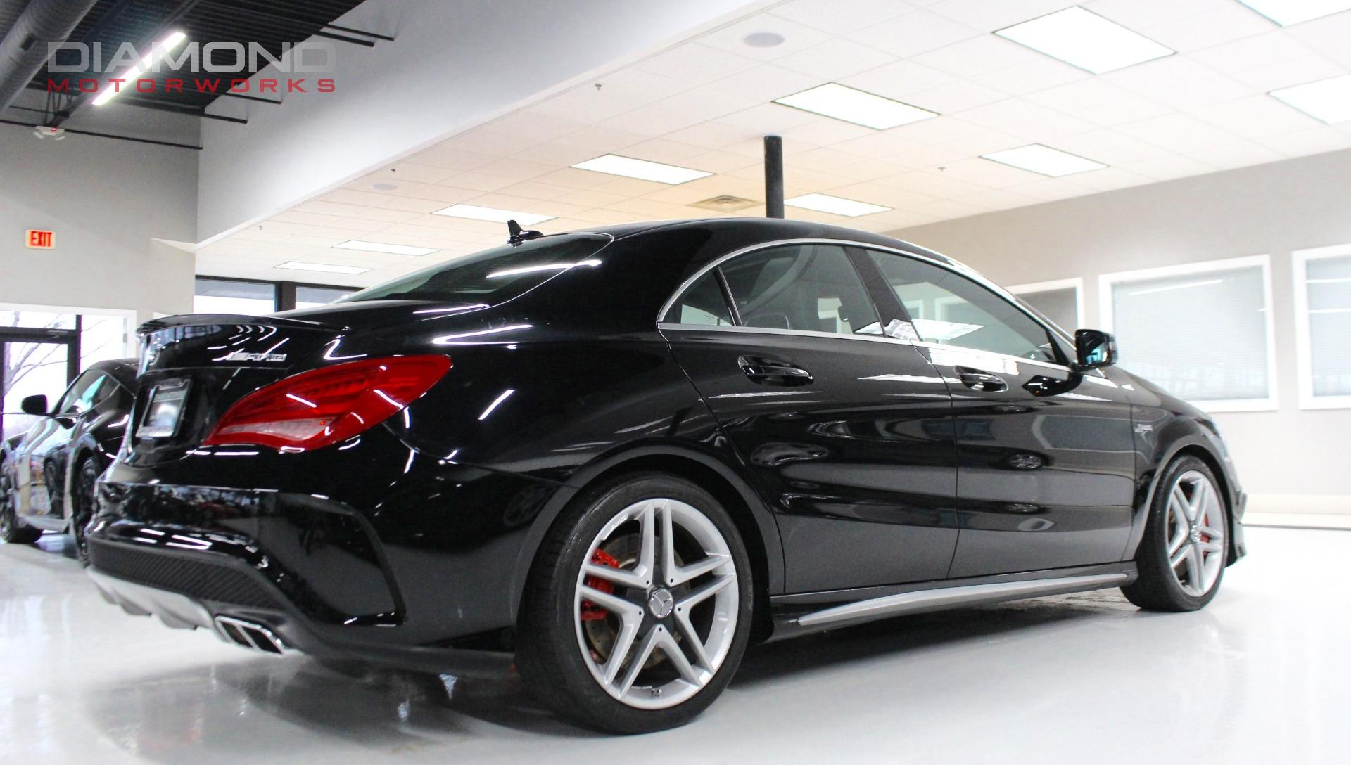 used 2014 mercedes benz cla cla 45 amg 4matic. Black Bedroom Furniture Sets. Home Design Ideas