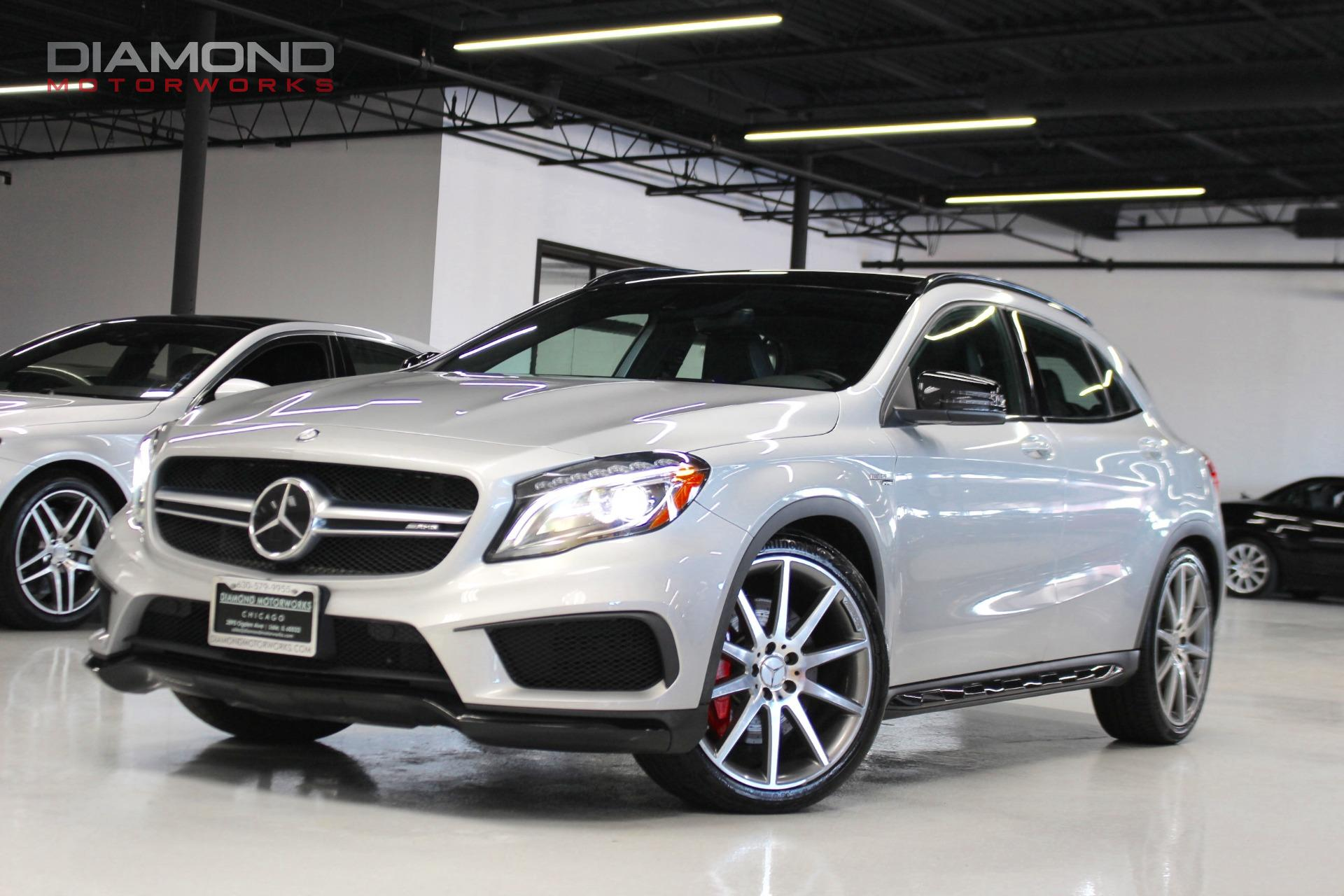 2015 mercedes benz gla gla 45 amg stock 031985 for sale near lisle il il mercedes benz dealer. Black Bedroom Furniture Sets. Home Design Ideas