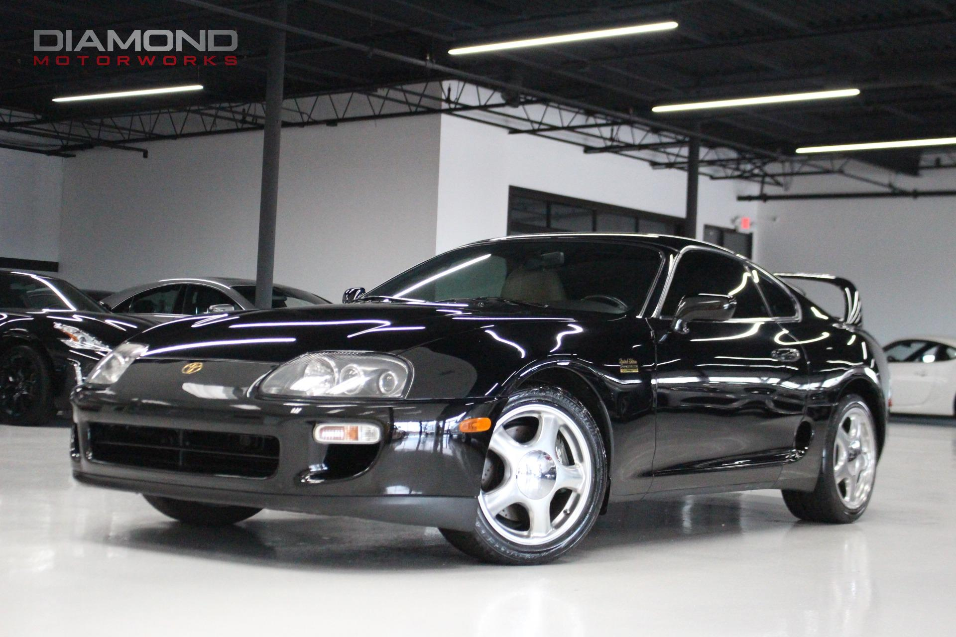 1997 toyota supra twin turbo stock 000830 for sale near lisle il il toyota dealer. Black Bedroom Furniture Sets. Home Design Ideas