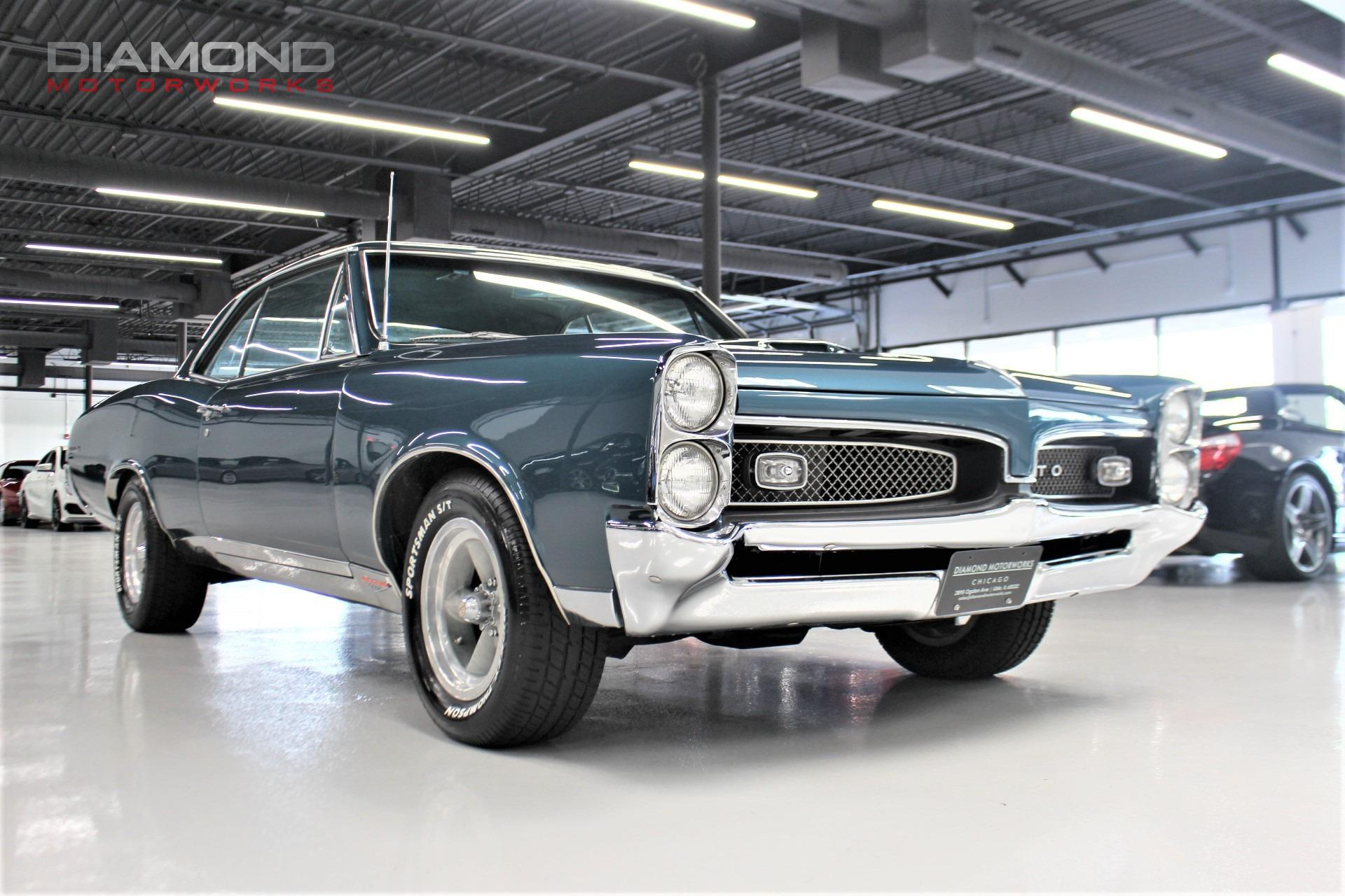 1967 Pontiac GTO Stock # 107098 for sale near Lisle, IL ...