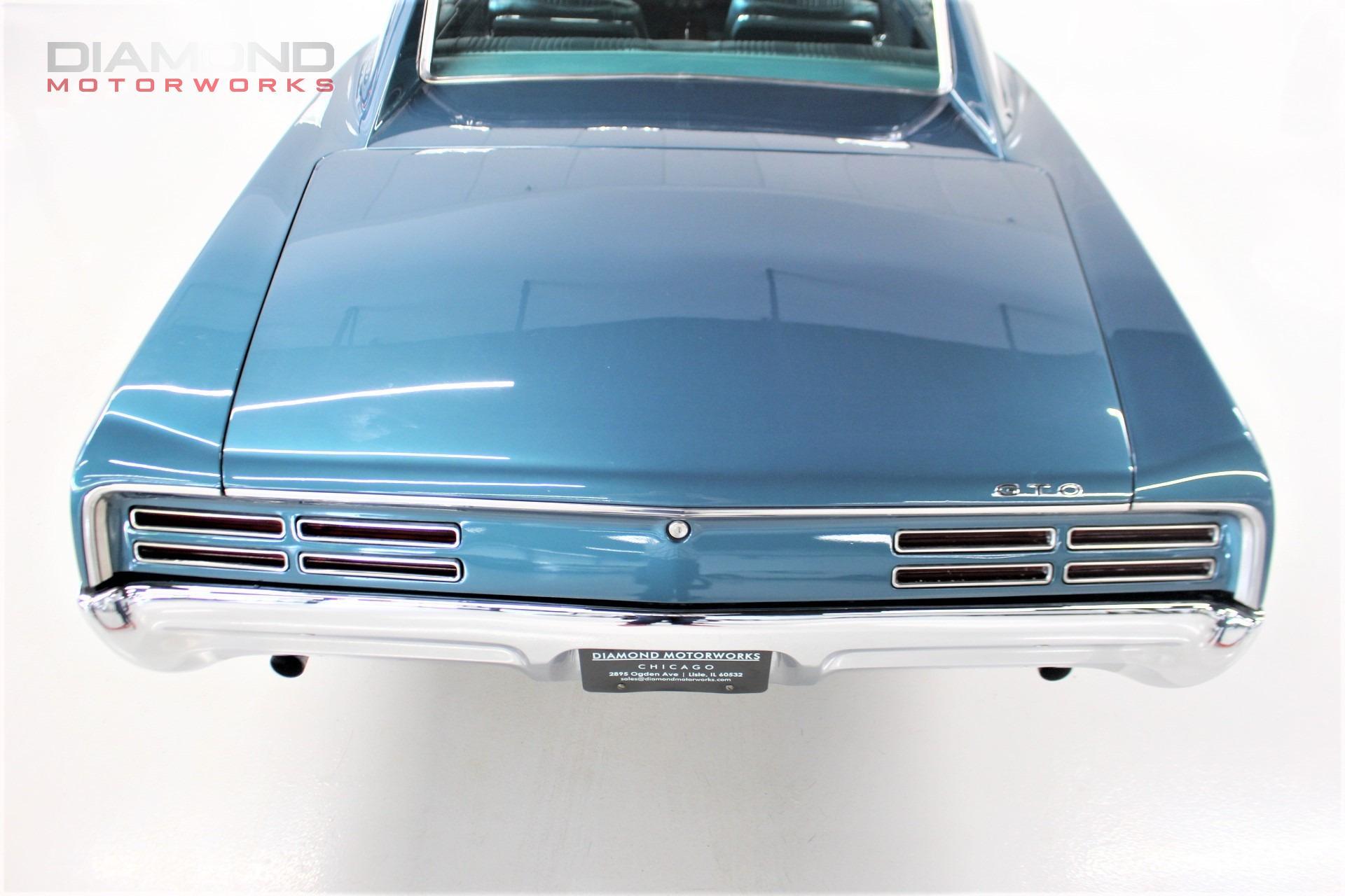 1967 Pontiac GTO Stock # 107098 for sale near Lisle, IL   IL Pontiac Dealer