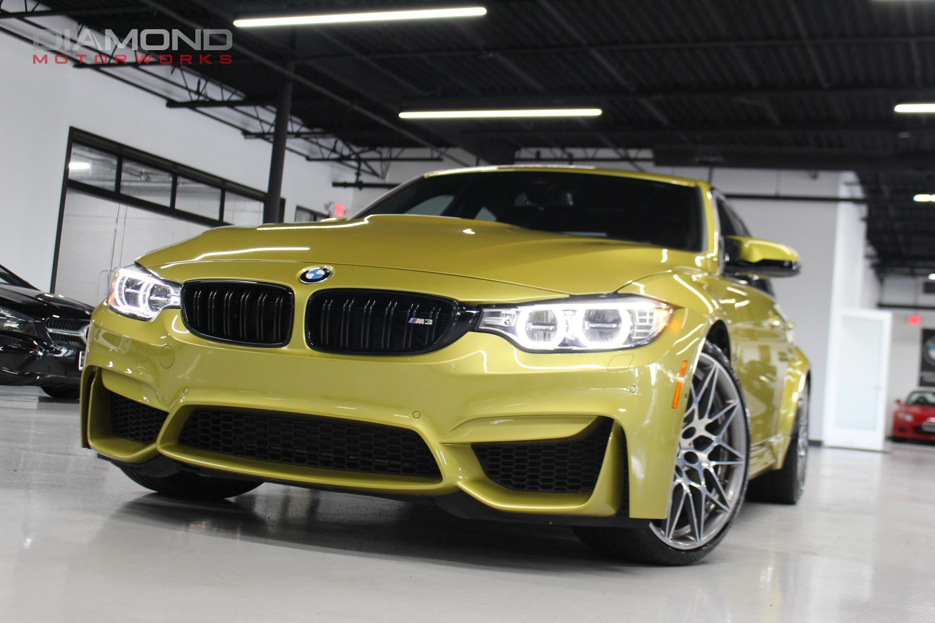 2017 Bmw M3 Competition Package Stock G83652 For Sale Near Lisle
