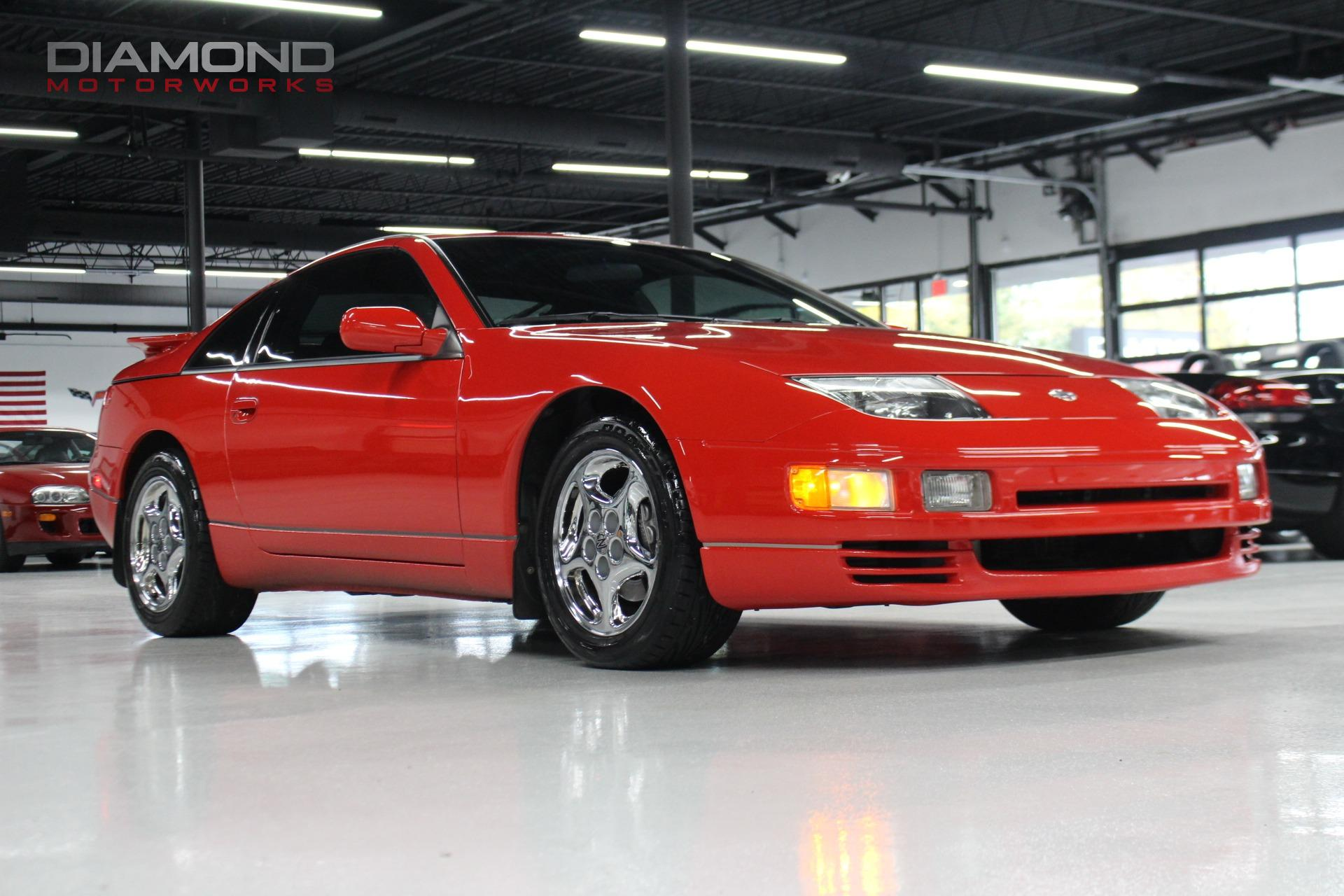 1996 nissan 300zx turbo stock 580552 for sale near lisle il il nissan dealer. Black Bedroom Furniture Sets. Home Design Ideas