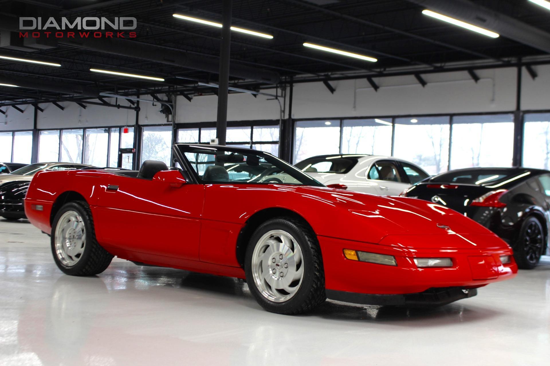 1996 chevrolet corvette 2dr convertible stock 111022 for for Tilting motor works dealers