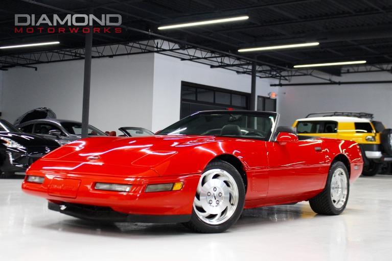 Used 1996 Chevrolet Corvette 2dr Convertible Lisle Il
