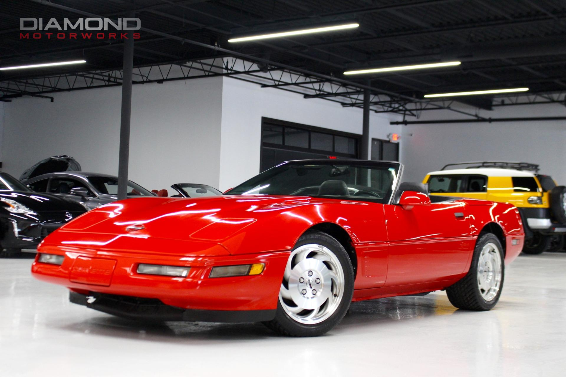 1996 Chevrolet Corvette 2dr Convertible Stock for sale near