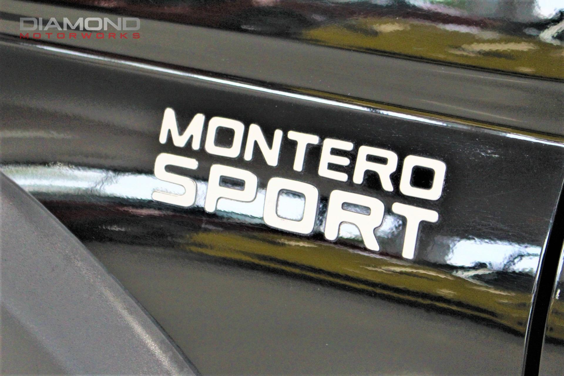 2002 Mitsubishi Montero Sport ES Stock # 064426 for sale