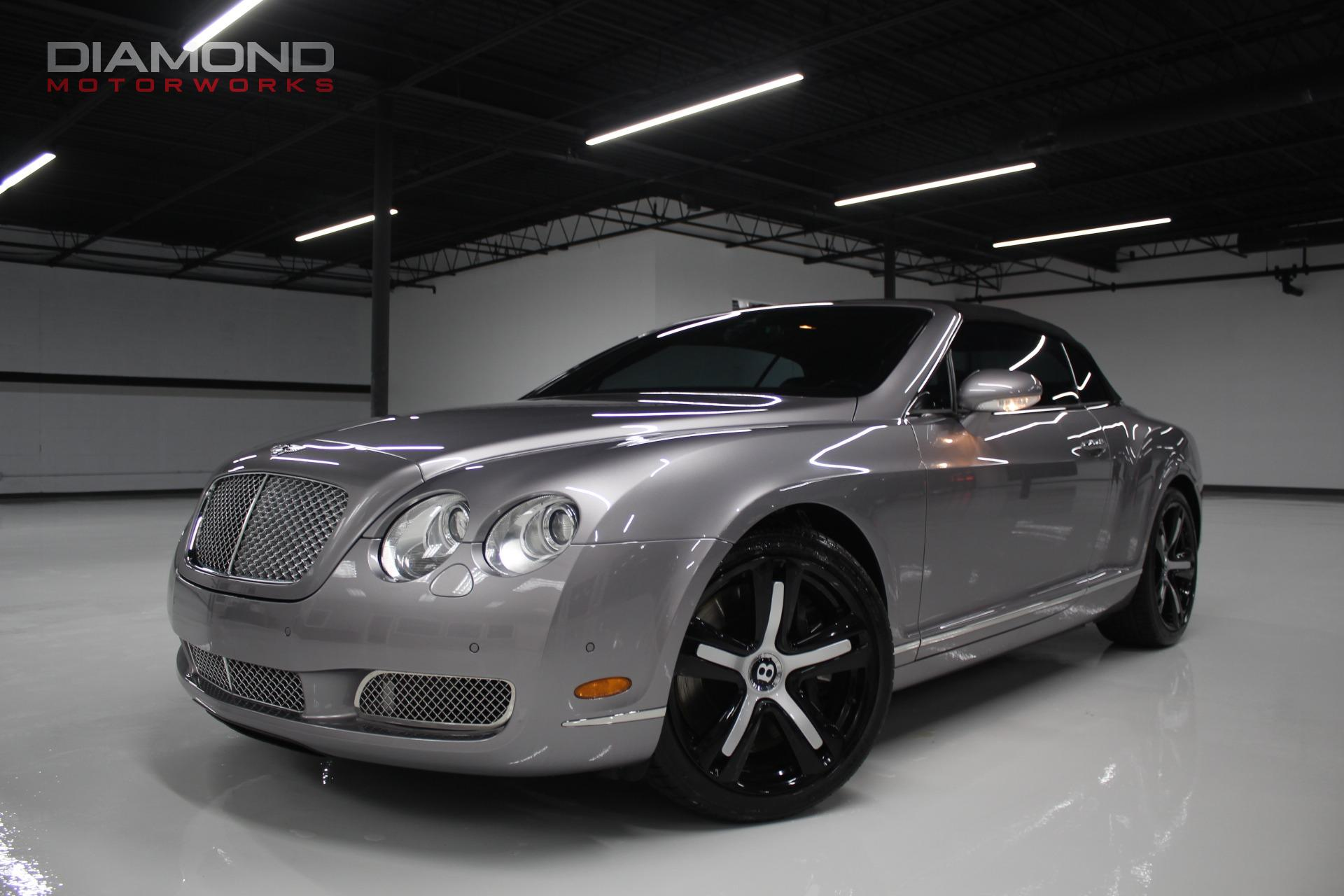 2009 bentley continental gt 2dr convertible stock 060249 for sale near lisle il il bentley. Black Bedroom Furniture Sets. Home Design Ideas