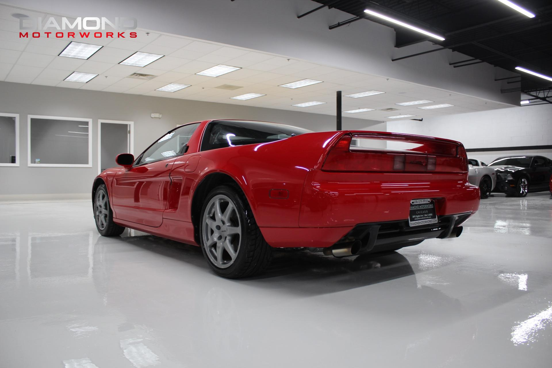 1996 Acura Nsx 2dr Nsx T Open Top Manual Stock 000073