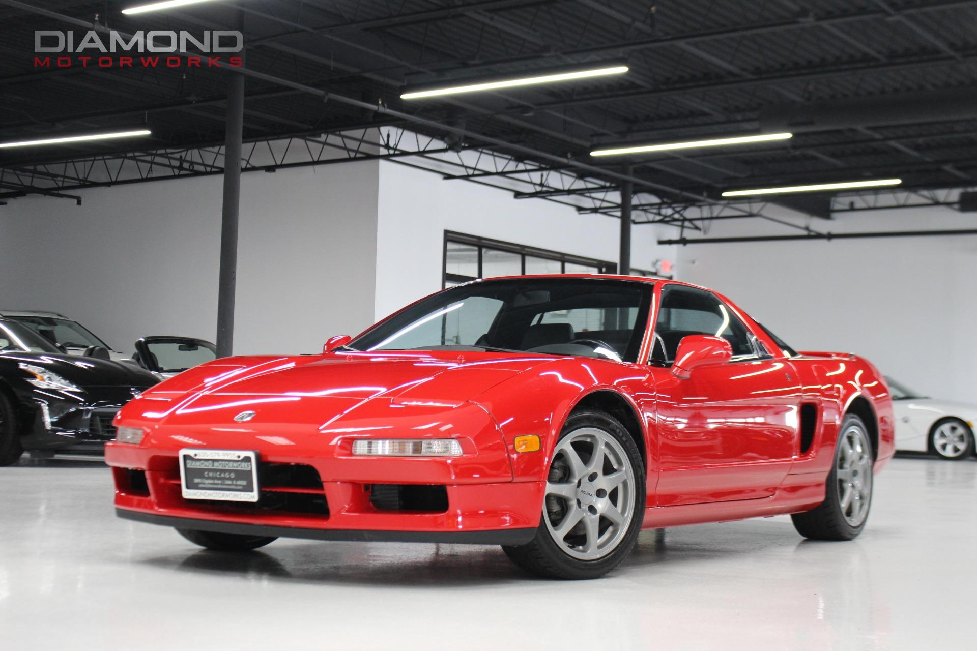 1996 acura nsx 2dr nsx t open top manual stock 000073 for sale near lisle il il acura dealer. Black Bedroom Furniture Sets. Home Design Ideas