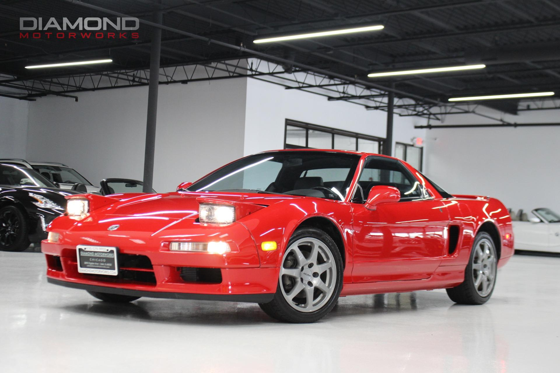 Acura NSX Dr NSXT Open Top Manual Stock For Sale - 1990 acura nsx for sale